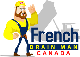 French Drain Man Canada